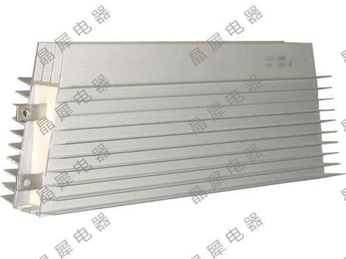 带散热器铝合金电阻